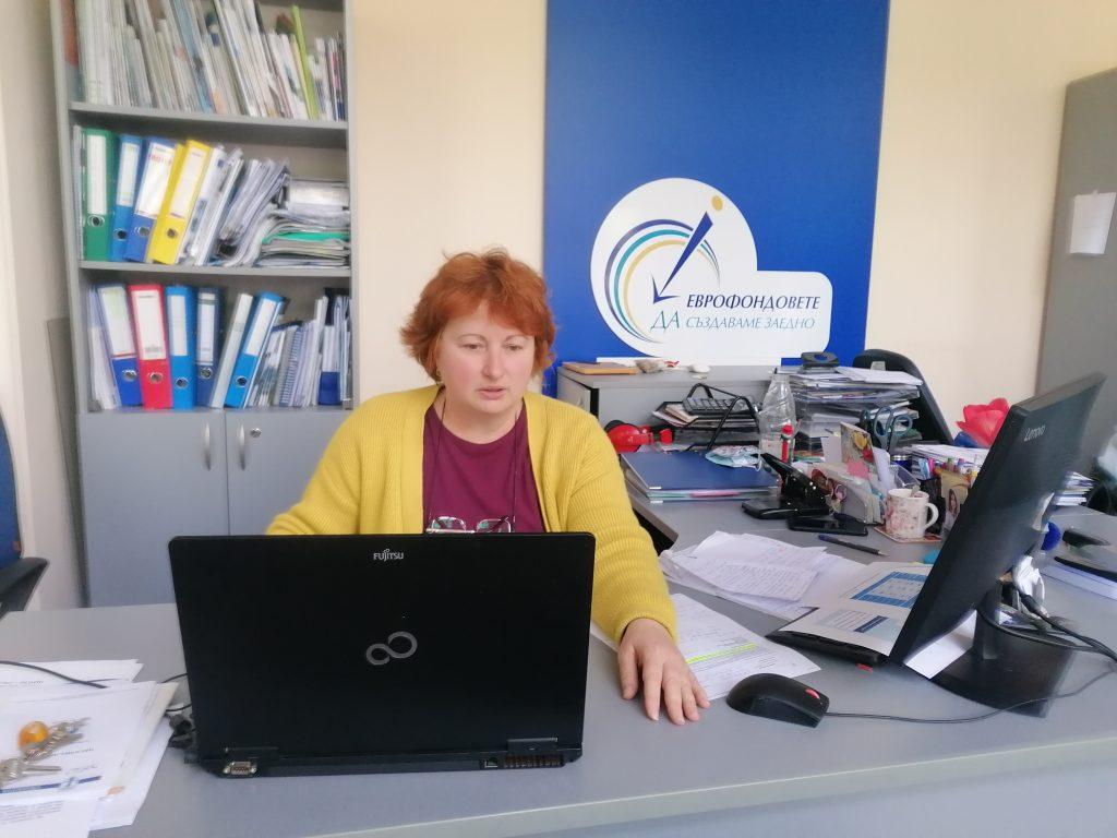 Управителят на Областния информационен център – Русе Камелия Махакян